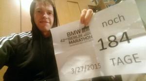 Vorbereitung auf Berlin noch 184 Tage