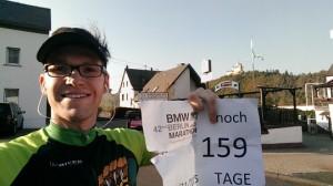 Vorbereitung auf Berlin noch 159 Tage