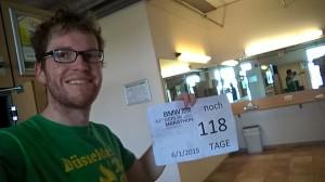 Vorbereitung auf Berlin noch 118 Tage