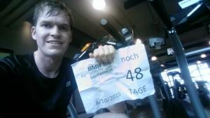 Vorbereitung auf Berlin noch 48 Tage