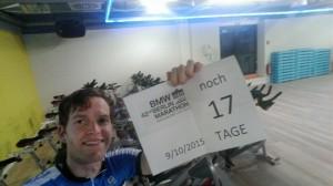 Vorbereitung auf Berlin noch 17 Tage