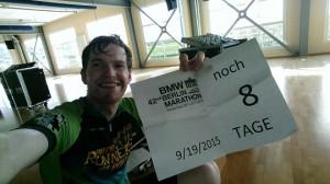 Vorbereitung auf Berlin noch 8 Tage
